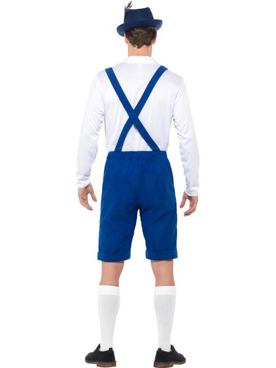 Bavarian Men's Fancy Dress Costume Thumbnail 3
