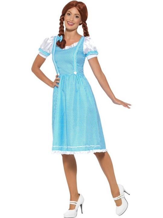 Kansas Country Girl Women's Fancy Dress Costume Thumbnail 2