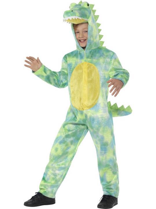 Deluxe Dinosaur Boy's Fancy Dress Costume Thumbnail 1