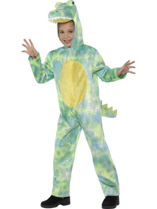 Deluxe Dinosaur Boy's Fancy Dress Costume Thumbnail 3