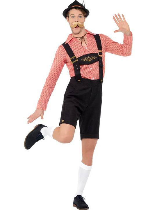 Oktoberfest Men's Fancy Dress Costume Thumbnail 2
