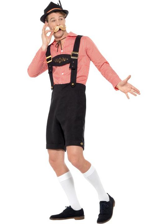 Oktoberfest Men's Fancy Dress Costume Thumbnail 4