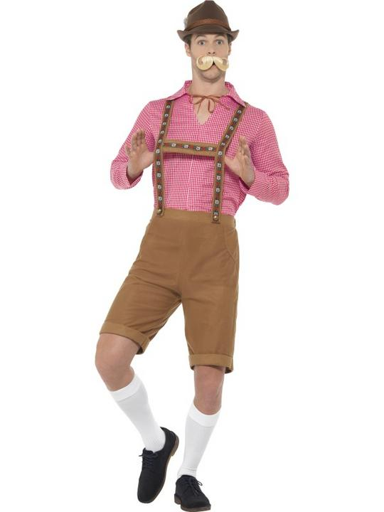Bavarian Oktoberfest Tavern Wench Womens Costume Ladies Fancy Dress Outfit Party Thumbnail 3