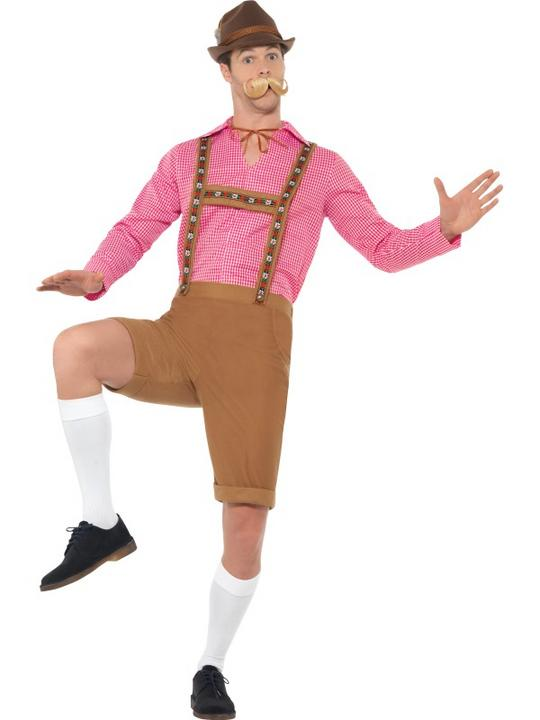 Mr Bavarian Men's Fancy Dress Costume Thumbnail 2