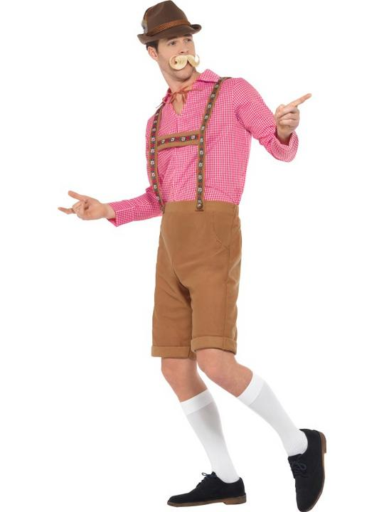 Mr Bavarian Men's Fancy Dress Costume Thumbnail 4