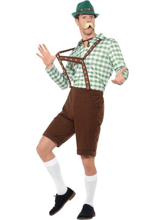 Alpine Bavarian Men's Fancy Dress Costume Thumbnail 2