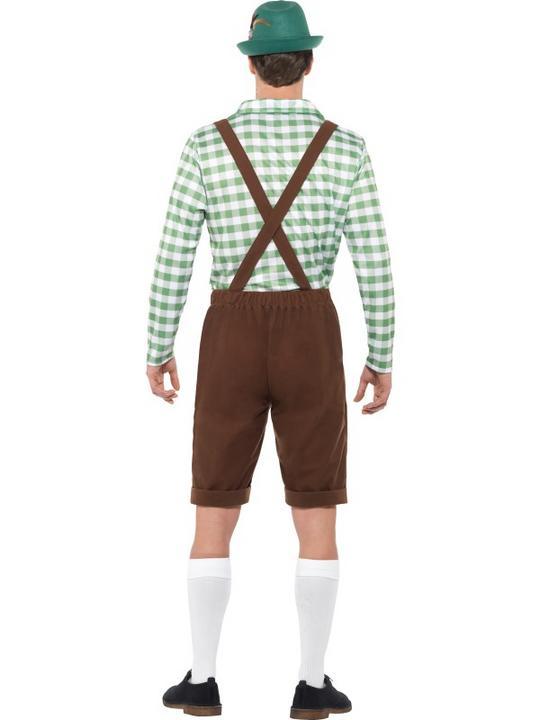 Alpine Bavarian Men's Fancy Dress Costume Thumbnail 3