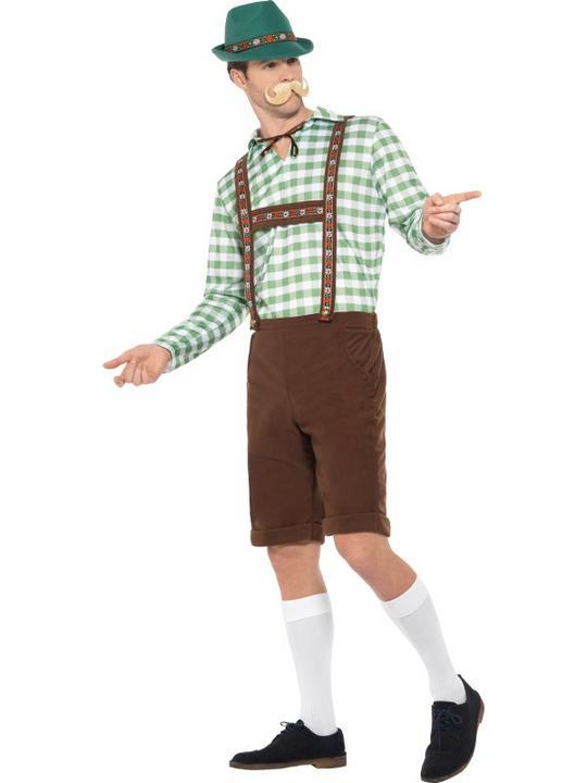 Alpine Bavarian Men's Fancy Dress Costume Thumbnail 4