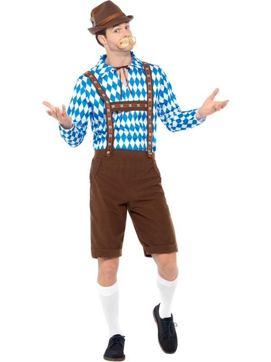 Bavarian Beer Man Fancy Dress Costume Thumbnail 2