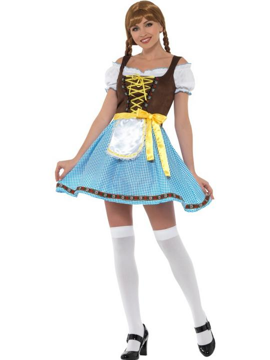Olga Bavarian Women's Fancy Dress  Costume Thumbnail 2