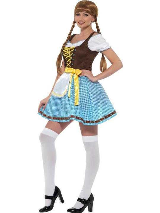 Olga Bavarian Women's Fancy Dress  Costume Thumbnail 4