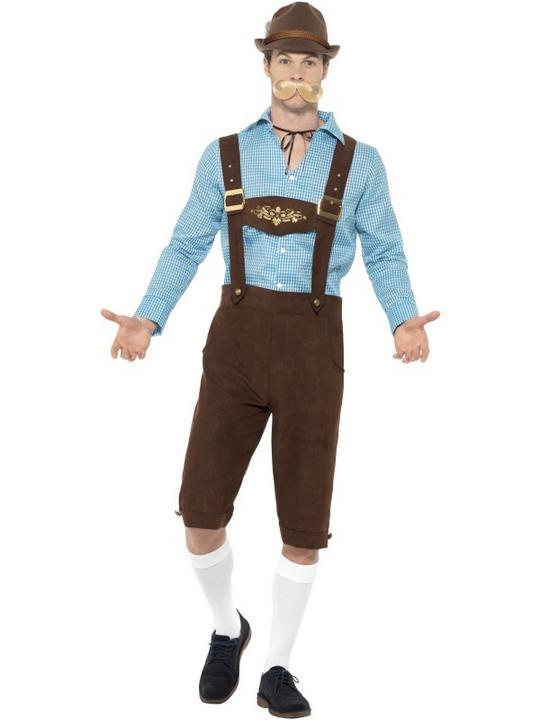 Beer Fest Men's Fancy Dress Costume Thumbnail 1