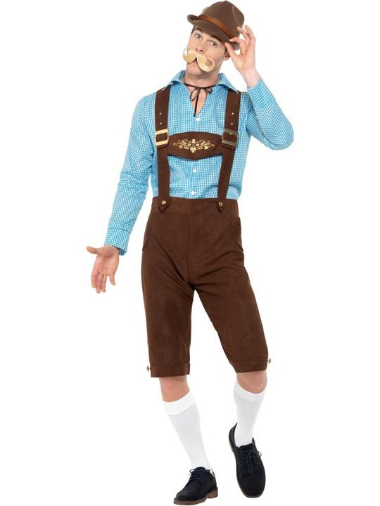 Beer Fest Men's Fancy Dress Costume Thumbnail 2