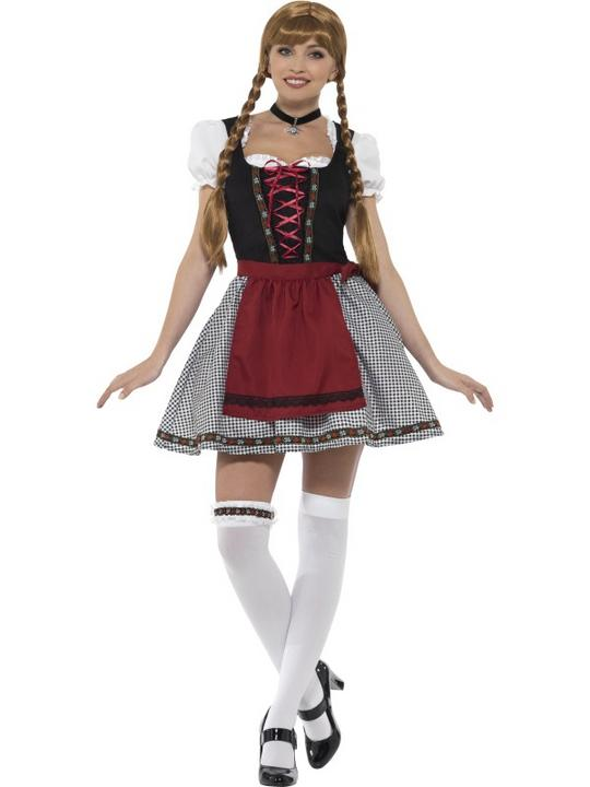Flirty Frõulein Bavarian Women's Fancy Dress Costume Thumbnail 1