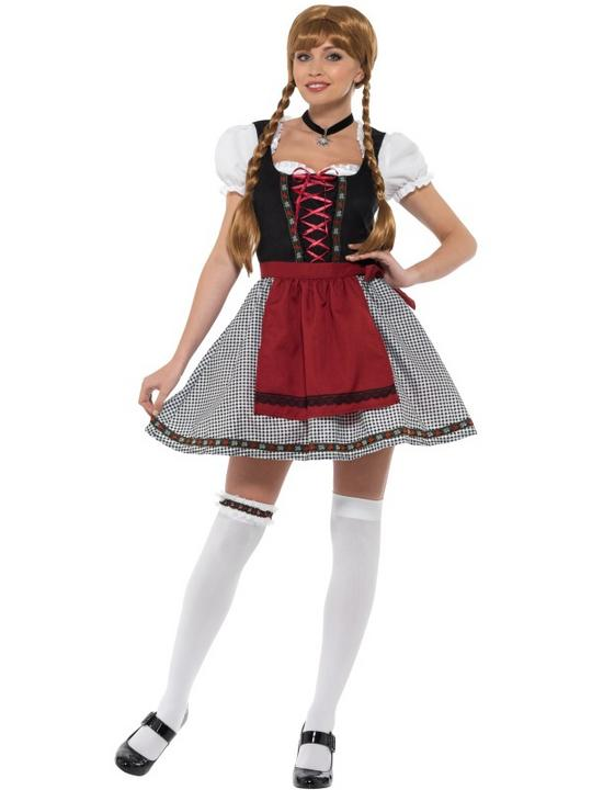 Flirty Frõulein Bavarian Women's Fancy Dress Costume Thumbnail 2