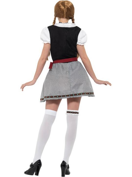 Flirty Frõulein Bavarian Women's Fancy Dress Costume Thumbnail 3