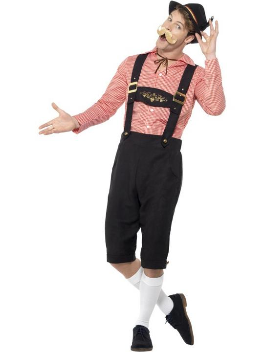 Bavarian Beer Guy Men's Fancy Dress Costume Thumbnail 1