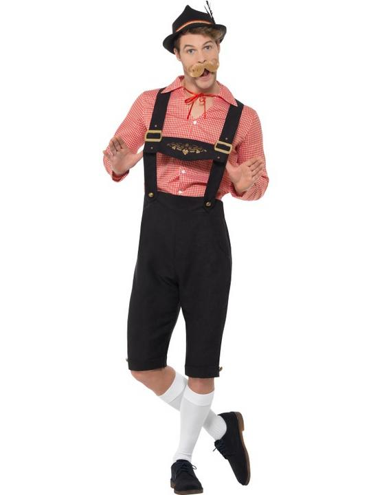 Bavarian Beer Guy Men's Fancy Dress Costume Thumbnail 2