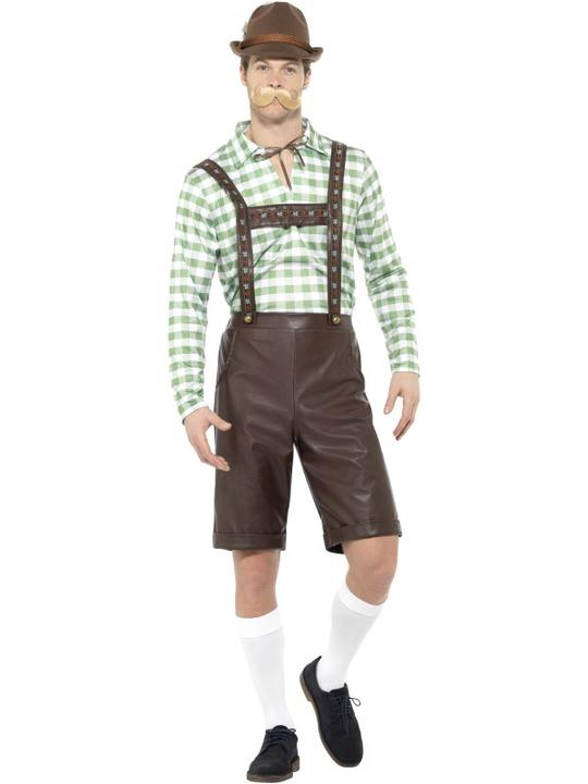 Bavarian Men's Fancy Dress Costume Thumbnail 1