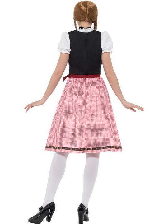 Bavarian Tavern Maid Women's Fancy Dress Costume Thumbnail 3