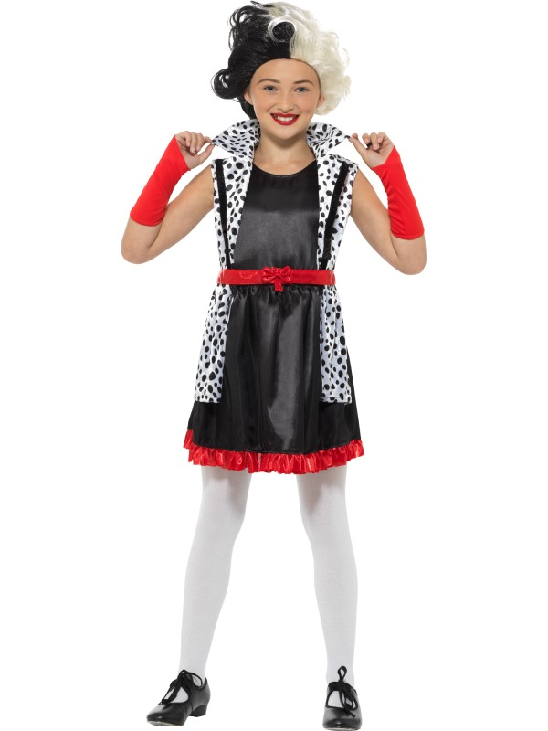Evil Little Madame Girl's Fancy Dress Costume