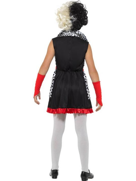 Evil Little Madame Girl's Fancy Dress Costume Thumbnail 3