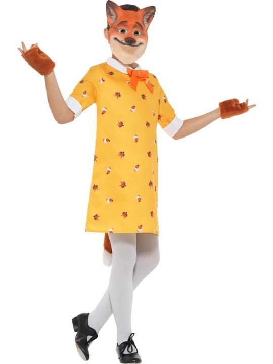 Miss Fox Girl's Fancy Dress Costume Thumbnail 3