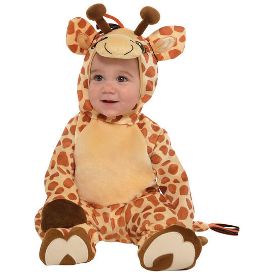 Giraffe Kids Fancy Dress Costume Thumbnail 1