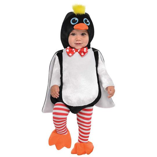 Penguin Waddles Kid's Fancy Dress Costume Thumbnail 1