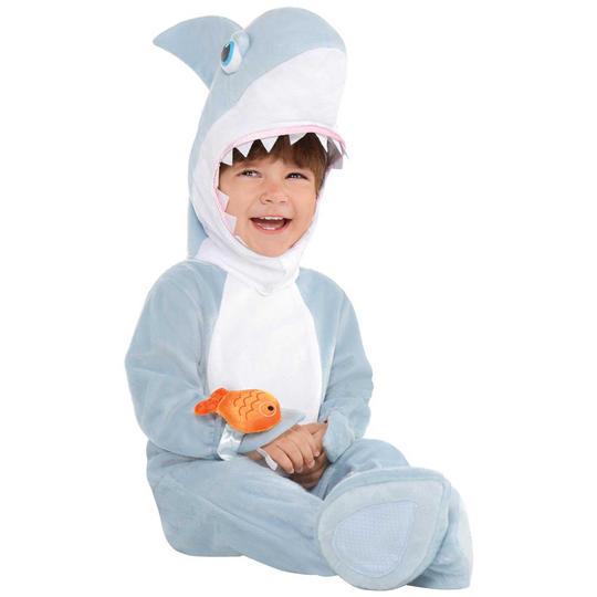 Shark Attack Kid's Fancy Dress Costume Thumbnail 1
