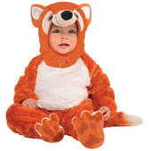 Boys Girls Fox Furry Costume Kids Fancy Dress Outfit School Story Childs Party
