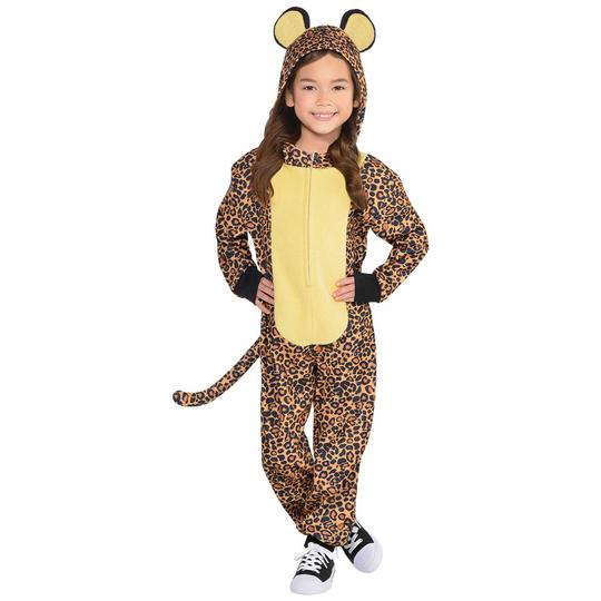 Leopard Zipster Fancy Dress Costume  Thumbnail 1