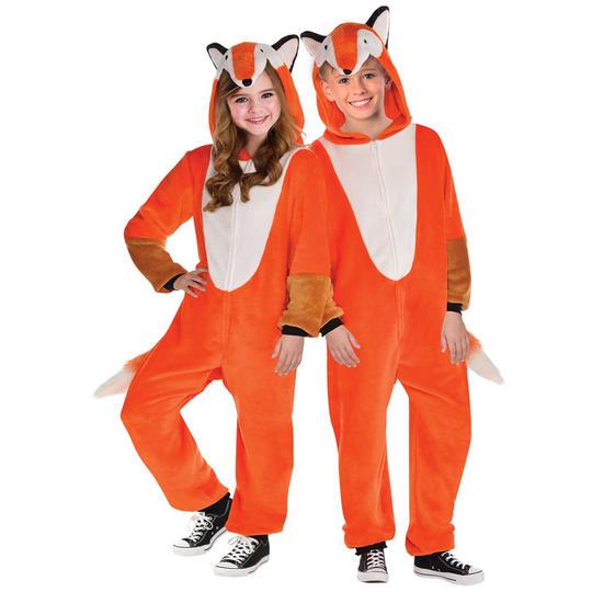 Fox Zipster Kid's Fancy Dress Costume Thumbnail 1