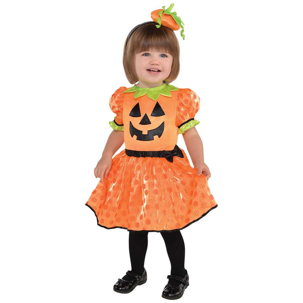 Pumpkin Baby Girl's Fancy Dress Costume