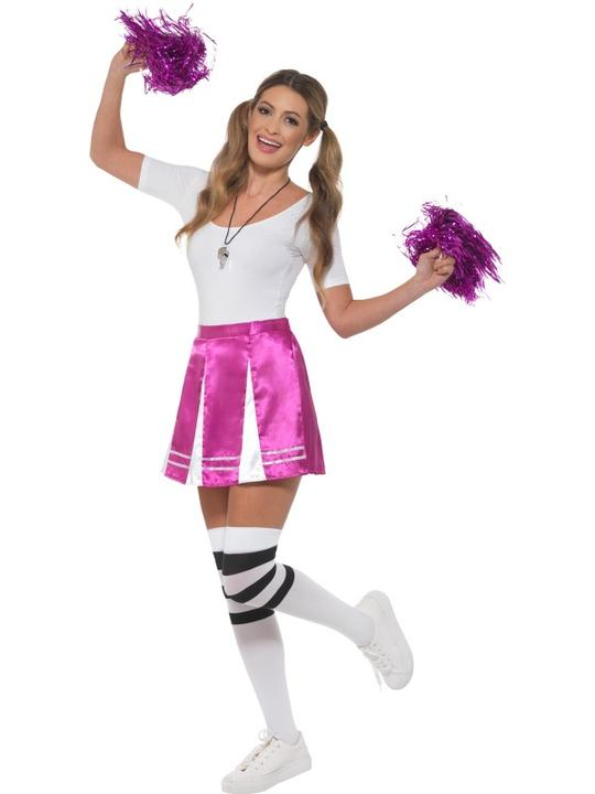 Cheerleader Womens Costume Ladies Fancy dress School Football Outfit party hen Thumbnail 1