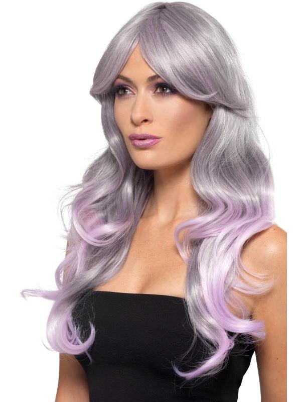 Fashion Ombre Wig Lilac