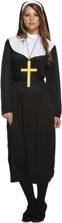Nun Women's Fancy Dress Costume Thumbnail 1