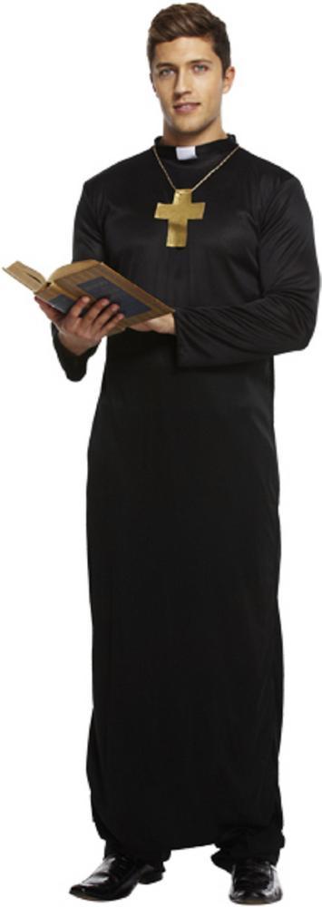 Vicar / Priest Men's Fancy Dress Costume