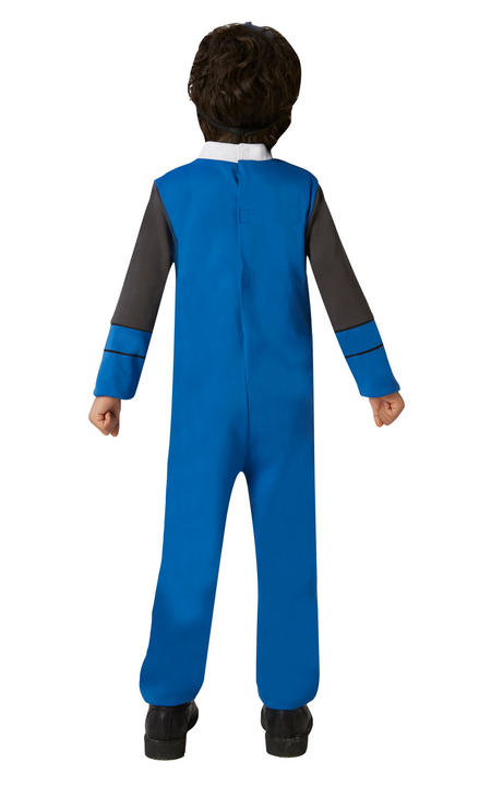 Power Ranger Ninja Steel Blue Classic Boy's Fancy Dress Costume Thumbnail 3