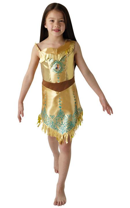 Pocahontas Disney Gem Princess Girl's Fancy Dress Costume Thumbnail 1