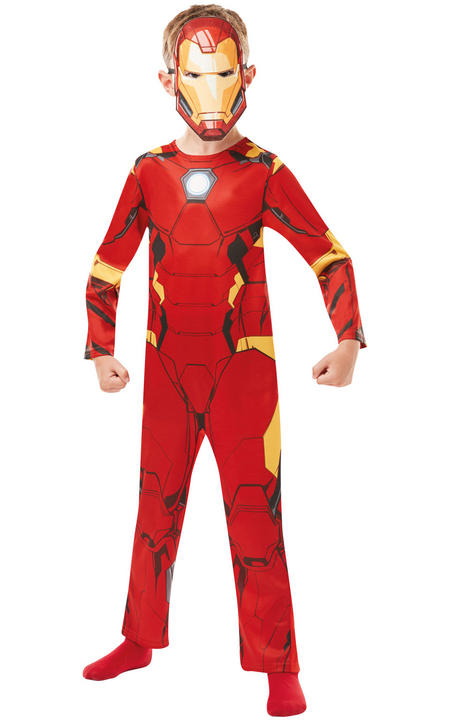 Iron Man Marvel Boy's Fancy Dress Costume Thumbnail 1