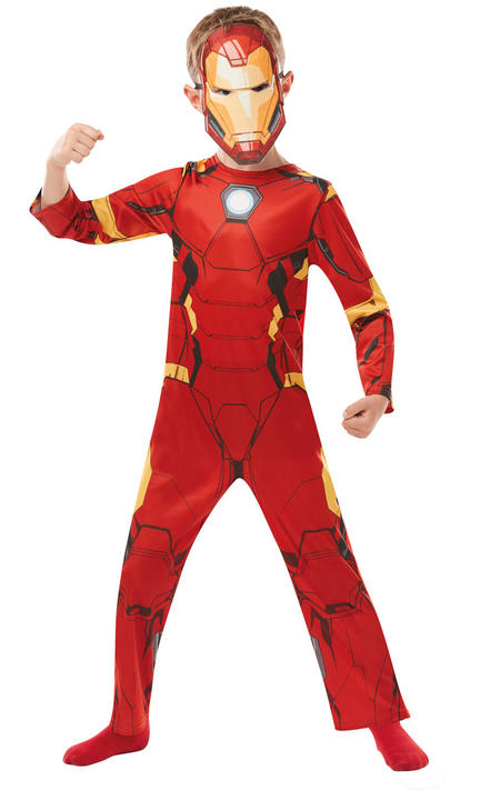 Iron Man Marvel Boy's Fancy Dress Costume Thumbnail 2