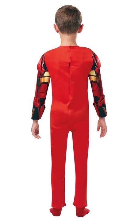 Iron Man Marvel Deluxe Boy's Fancy Dress Costume Thumbnail 3