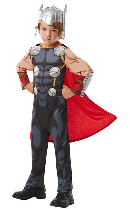 Thor Marvel Boy's Fancy Dress Costume Thumbnail 1