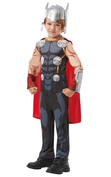Thor Marvel Boy's Fancy Dress Costume Thumbnail 2