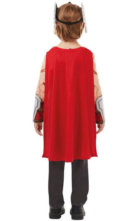 Thor Marvel Boy's Fancy Dress Costume Thumbnail 3
