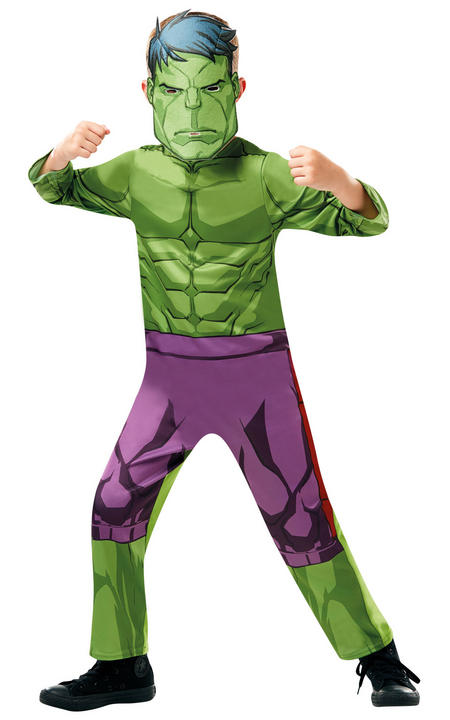 Hulk Marvel Boy's Fancy Dress Costume Thumbnail 1