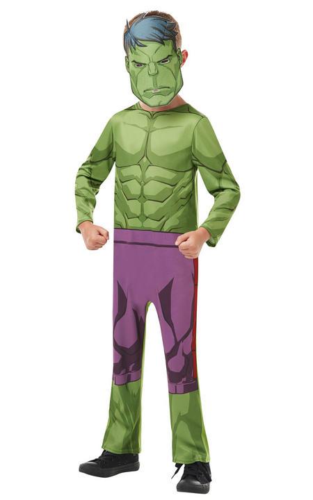 Hulk Marvel Boy's Fancy Dress Costume Thumbnail 2