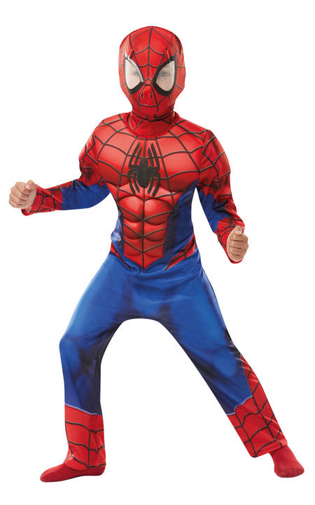 Deluxe Ultimate Spider-Man Marvel Boy's Fancy Dress Costume Thumbnail 1