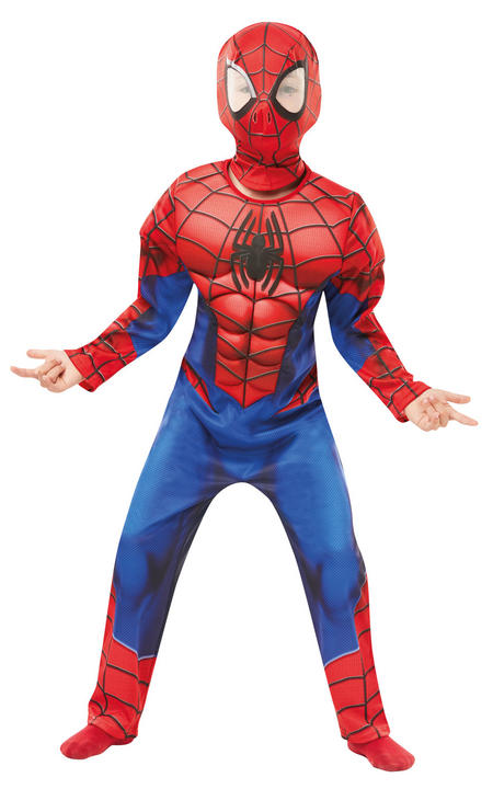 Deluxe Ultimate Spider-Man Marvel Boy's Fancy Dress Costume Thumbnail 2